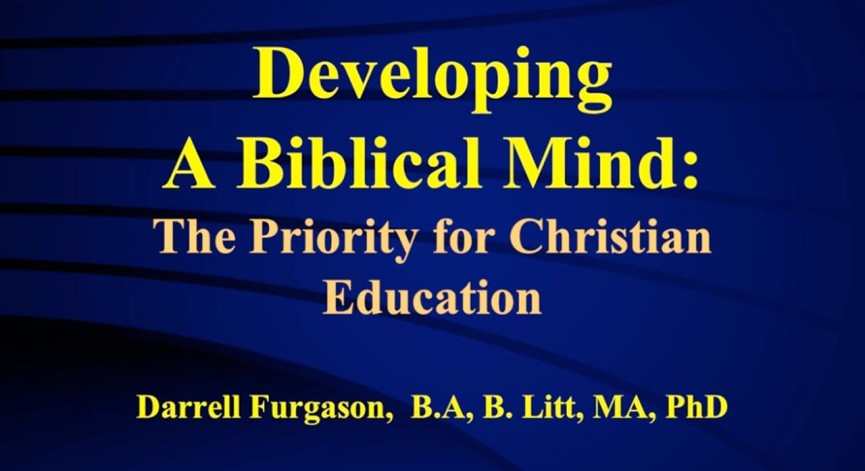 Developing the Biblical Mind